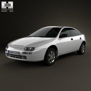 3d model 1994 323 4