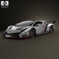 2 2013 lamborghini 3d model