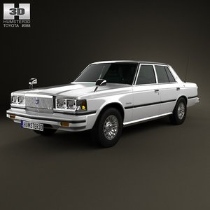 sedan 1979 crown 3d c4d