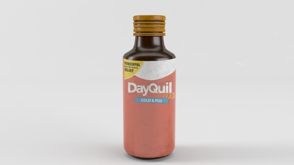 max cough syrup bottle