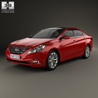 3d model 2012 4 hyundai