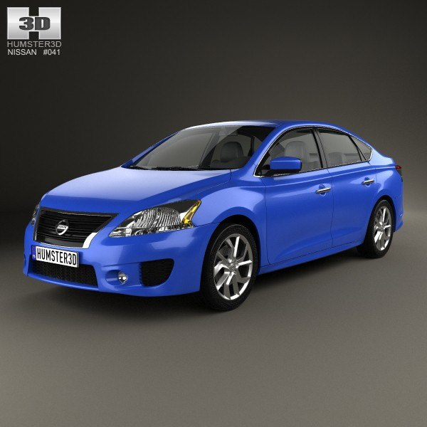 3d model 2013 nissan sentra