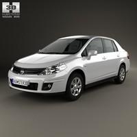sedan 2012 c11 3d model
