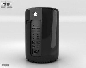 2013 apple mac 3d c4d