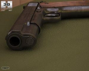 1911 colt m1911 3d model