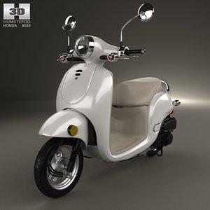 3d 2013 chf50 honda model