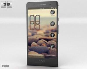 6 ascend huawei 3d model