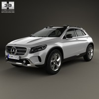 Mercedes-Benz GLA-class concept 2013
