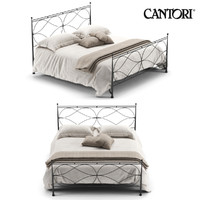 3d model of bed cantori