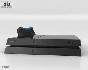 3d 4 playstation sony model