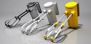 free kitchen mixer 3d model