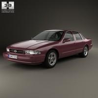 chevrolet impala ss 3d 3ds