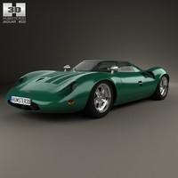 13 1966 xj13 3d model