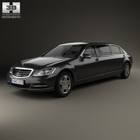 2012 benz mercedes 3d model