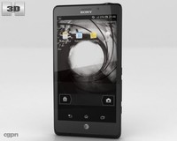 sony xperia tl 3d model