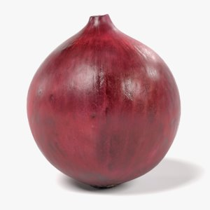 obj red onion