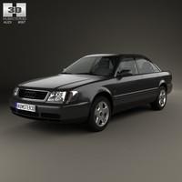 3d model sedan 1994 4