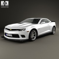 3d model 2 2014 camaro