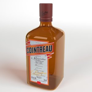 cointreau 3d model