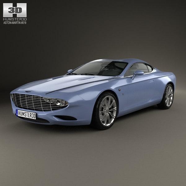 3d coupe 2 aston model