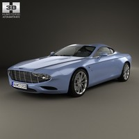 3d coupe 2 aston model