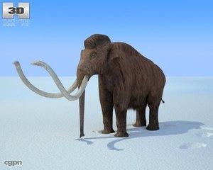 mammoth mammut mammuthus 3d model