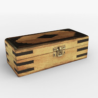 WOODEN MOROCCAN BOX