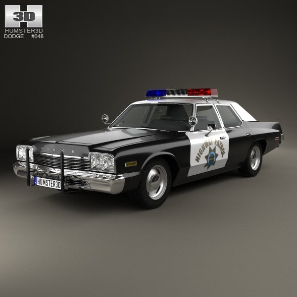 3d police 4 dodge