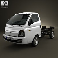 chassis truck hyundai 3d 3ds