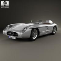 3d 1955 benz mercedes model
