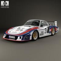 3d 1978 moby porsche model