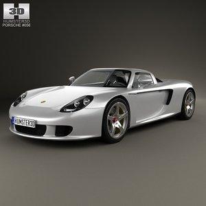 3d car 2 carrera model