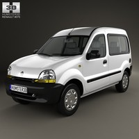 3d renault kangoo model