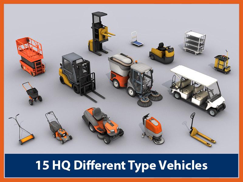 3d model vehicles -