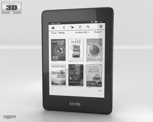 amazon kindle paperwhite c4d