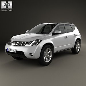 nissan murano z50 3d 3ds