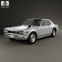 3ds nissan skyline c10