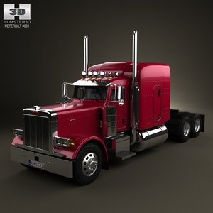379 tractor 1987 3d model