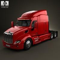 579 tractor 2012 3d model
