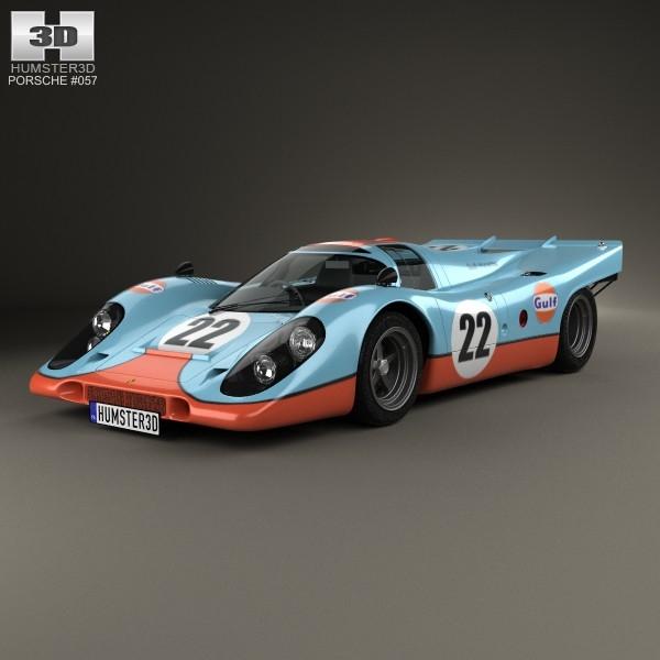 porsche 917 k 3d 3ds