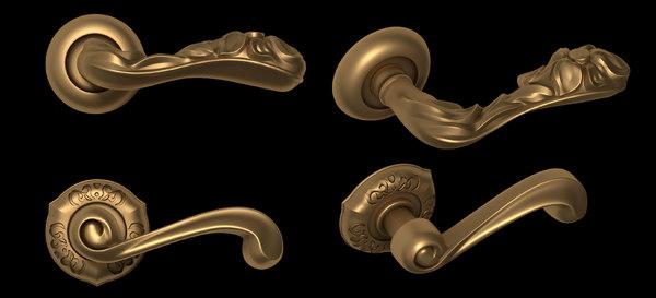 3d handle door 2