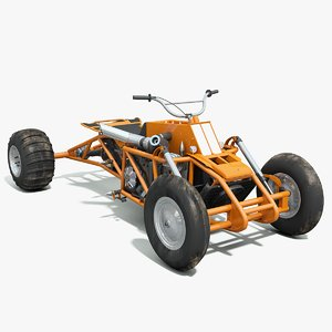 3d powered atv