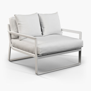 3d outdoor furniture gandia blasco model