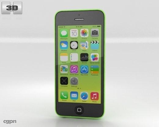 3d model 5c apple iphone