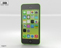 3d model 5c apple iphone
