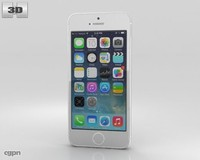 5s apple iphone 3d model