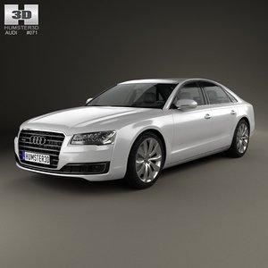 2014 4 a8 3d model