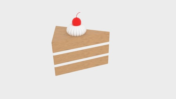 cherry chocolate cake 3d 3ds