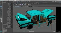 3d model austin cambridge car