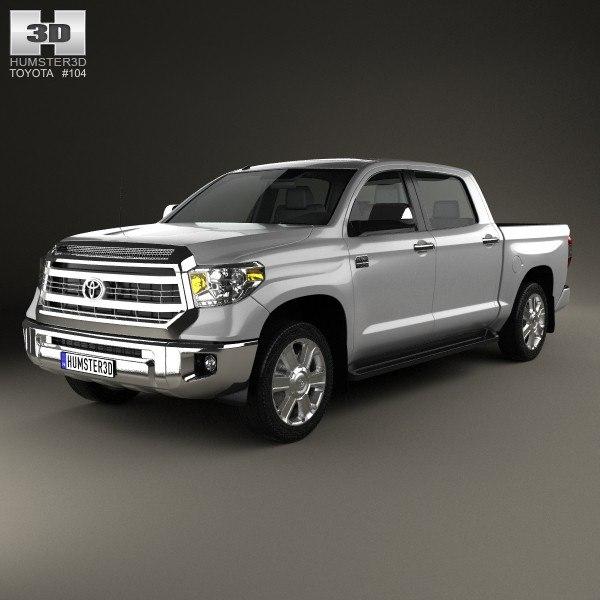 toyota tundra 3d model